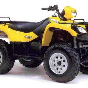 2002-2007 Suzuki LT-A500F Vinson 500 Service Manual Download
