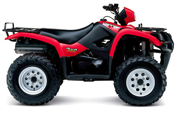 2000-2001 Suzuki LT-A500F Quadmaster Service Manual Download