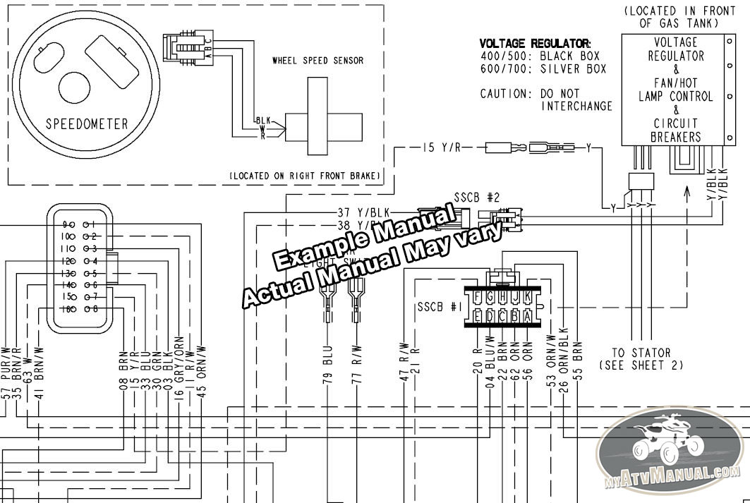 polaris 330 trail boss wiring diagram polaris wiring diagrams online 2009 polaris trail boss 330 trail blazer 330 service manual