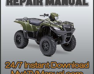 2006-2010 Yamaha Wolverine 450 Service Repair Manual | MyATVManual | Wolverine 450 Wiring Diagram |  | ATV Service Manuals