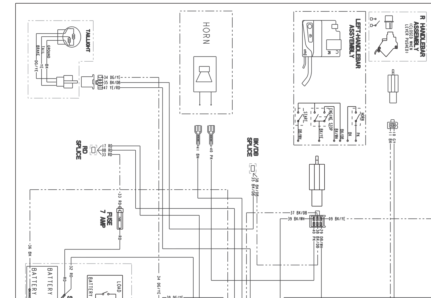 polaris trail boss 330 wiring diagram detailed schematic diagrams rh 4rmotorsports com polaris outlaw 50 wiring diagram 2008 polaris outlaw 525 wiring diagram